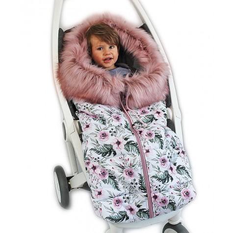 Śpiworek zimowy IN GARDEN z futerkiem
