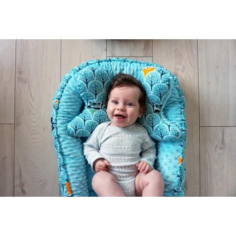 Gniazdko kokon niemowlęcy Las turkusowy