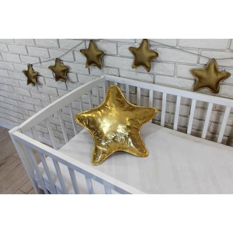 Poduszka gwiazda złota