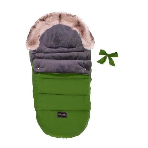 Śpiworek dziecięcy zielony